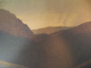 Russell Chatham Original Signed quot;The Continental Dividequot; Tonalist Lithograph Art $129.30