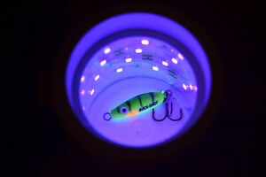GLOW CUP FOR CHARGING ICE FISHING LURES COMPATIBLE WITH VEXILAR MADE IN USA