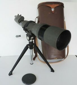 Vintage Herter's 30 mm Spotting Scope with Tripod 80mm Diameter No.32924