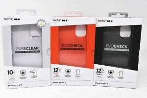 Tech21 Evo Check & Pure Clear Case for Apple iPhone 11 6.1