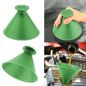 Magical Car Windshield Ice Scraper Snow Remover Tool Cone Shaped Round Funnel