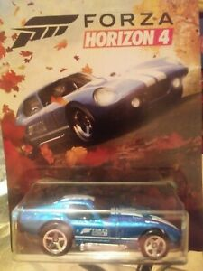 Hot Wheels Forza Horizon 4 Shelby Cobra Daytona Coupe 🔥 New! HTF! Candy Blue