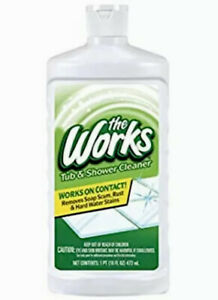 2X The Works Tub & Shower Cleaner, 16 oz each