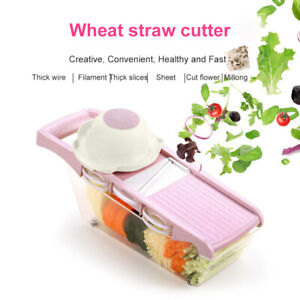 Multifunction Slicer Vegetable Cutter Blade Manual Peeler Grater Dicer