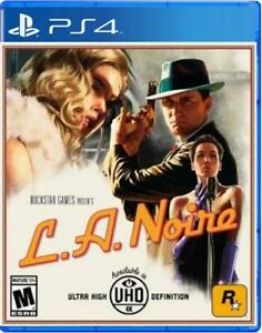 L.A. Noire Remastered PS4 Sony PlayStation 4, 2017 Brand New Region Free