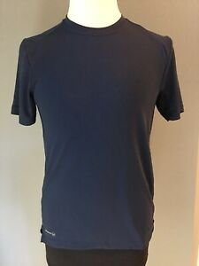 Russell Dri Power Training Fit Black Short Sleeve Tee Size Small 34 36 $8.00