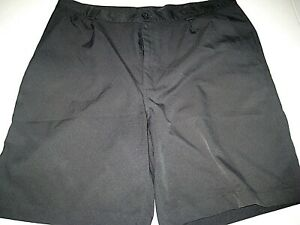 EUC- UNDER ARMOUR PERFORMANCE Men's Size 38R Black GolfCasual Polyester Shorts