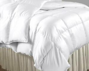 3 PC Comforter Set US Sizes 1000 Thread Count Satin Silk 300 GSM Solid Colors