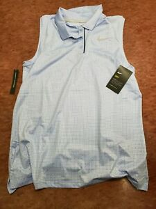 Nike Womens Dri Fit Golf Sleeveless  Shirt Size Large New With tags