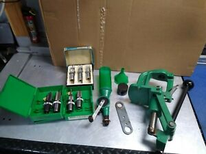 RCBS Press Rock Chucker with dies and powder measure