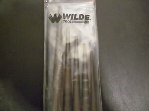 Wilde Tool Taper Punch Set with Vinyl Pouch 5 Piece