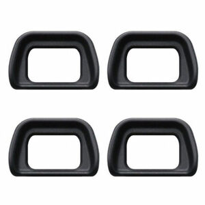 4 Pcs Rubber Eyecup Eye Cup For Sony A6300 A6000 A5000 A5100 NEX 76 Black