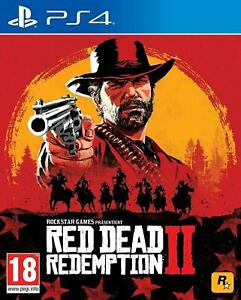 Red Dead Redemption 2 PS4 Sony PlayStation 4, 2018 Brand New Region Free