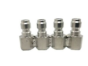 JRod J Rod 4 Piece Nozzle Holder Stainless Steel