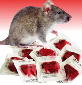 """""""This Stuff Really Works Fast� Rodenticide Rat Poison 25 Packets 250 Grams $19.99"""