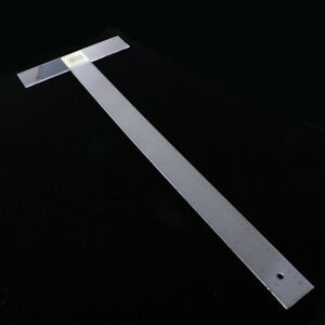 Multi Function Plastic T Square Ruler Architect Engineer Scale Ruler Metric Inch $9.41