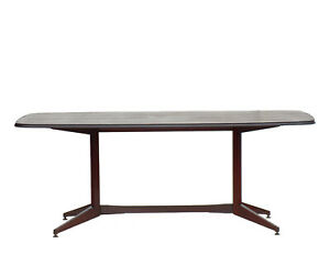 Mid-Century Italian Design Rosewood Dining Table 1950s Albini Parisi
