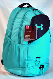 New Under Armour Hustle 4.0 Laptop Backpack Breathtaking Blue $31.99