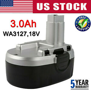 WA3152 For Worx WA3127 18V Battery 3000mAh WG150 WG152 WG153 C1817A005 Cordless