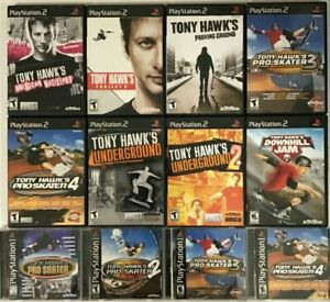 Tony Hawk Games Playstation 2 PS2 TESTED