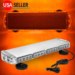 20 LED Emergency Warn Flash Strobe Light Amber Tow Truck Rooftop Beacon Light