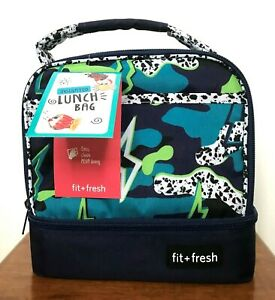 FIT + FRESH INSULATED LUNCH BAG