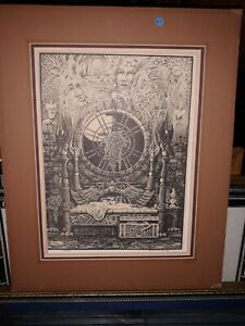 Randal Spangler Lithograph Signed Numbered