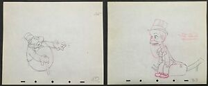 Walt Disney's Original Production Drawings from Mother Goose Goes Hollywood 1938 $500.00