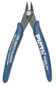 PLATO Model-170 Wire Cutters Side Flush Cutting Pliers Nippers for Small Wire