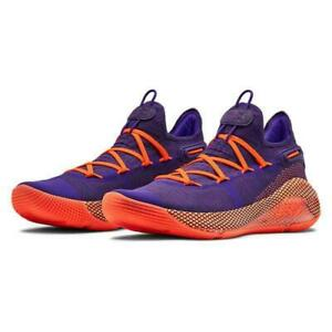 Under Armour TB Curry 6 Low Basketball Shoes Size 9.5 Orchid Purple 3022386 501 $119.99