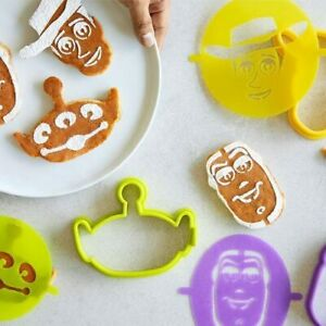Pampered Chef (new) DISNEY TOY STORY PANCAKE MOLDS & STENCILS