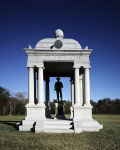 GLOSSY PHOTO PICTURE 8x10 Florida Confederate Soldier Monument Chickamauga $3.98