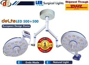 Euro Design LED OT Lights Ceiling SURGICAL Lamp Operation Theater Lamp Double $3300.00