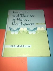 Concepts and Theories of Human Development by Richard M. Lerner 2001