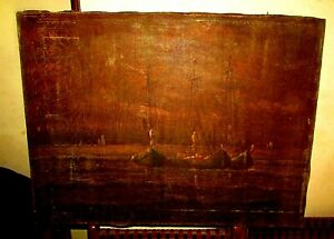 Antique 19th Oil Painting