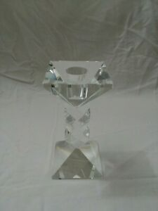 Candle Holder Crystal Home Decorative