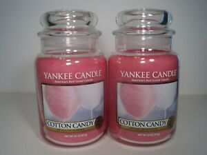 Yankee Candle 2 22 oz. Jars Cotton Candy