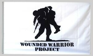 Wounded Warrior Project Flag 3X5FT Banner US Seller