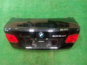 Trunk Hatch Decklid Tailgate Black Coupe Thru 309 Fits 07-09 BMW 328i 826132