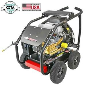 Simpson Super Pro Roll Cage Ind. Pressure Washer 6000 PSI 5.0 GPM SW6050KCGL