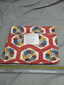 Handmade Microwave Baked Potato Red Quilt