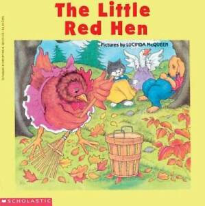 The Little Red Hen Easy to Read Folktales Paperback VERY GOOD $3.50