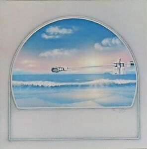 Loren Salazar RARE 1978 Lithograph Hand Signed & Numbered - Ocean Turntable NEW