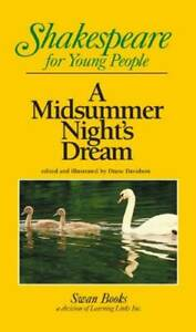 A Midsummer Night#x27;s Dream Shakespeare for Young People Paperback GOOD