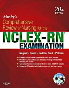Mosby#x27;s Comprehensive Review of Nursing for the NCLEX RN Examinati VERY GOOD