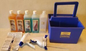 Amway Super Concentrated Cleaning System LOC See Spray Zoom w Tote Caddy New