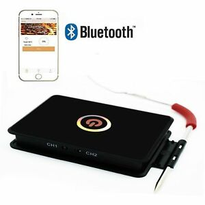 Bluetooth BBQ Thermometer,SGODDE Wireless Meat Thermometer with APP for Barbe...