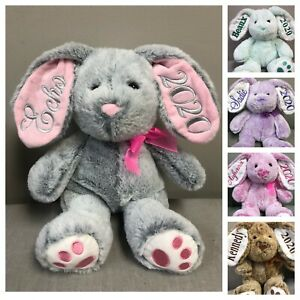 "Personalized 14"" Easter Bunny $18.00"