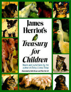 James Herriots Treasury for Children: Warm and Joyful Tales by the Autho GOOD $5.31