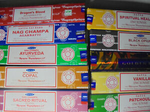 Satya Nag Champa Incense Sticks 15 Gram Buy 6 Get 6 Free Free Shipping